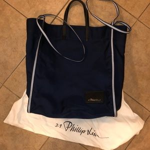 An authentic Phillip Lim Leather Tote sample.
